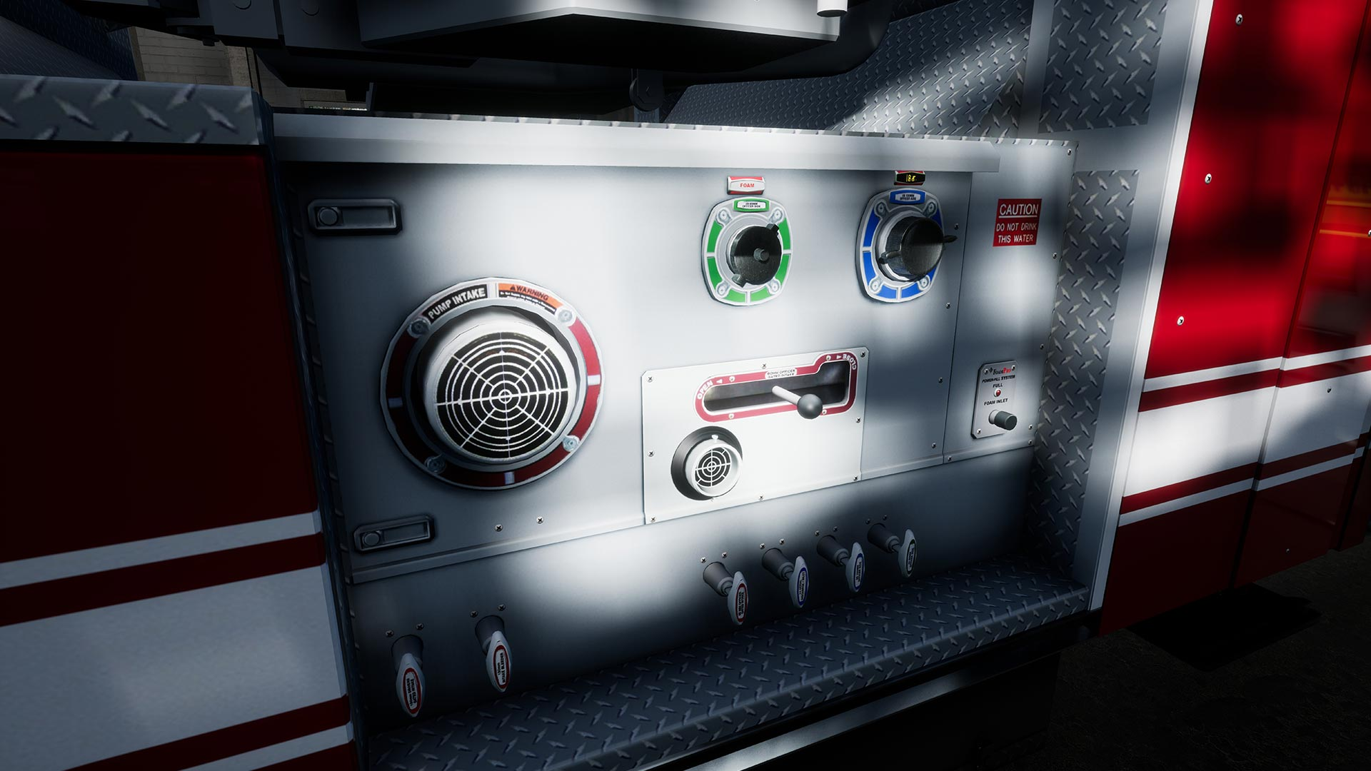 Firefighting Simulator Showroom